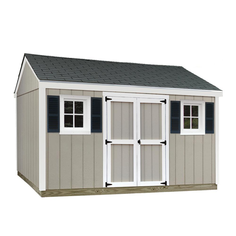 Sheds USA 10 Ft X 12 Ft Installed Smart Siding Classic