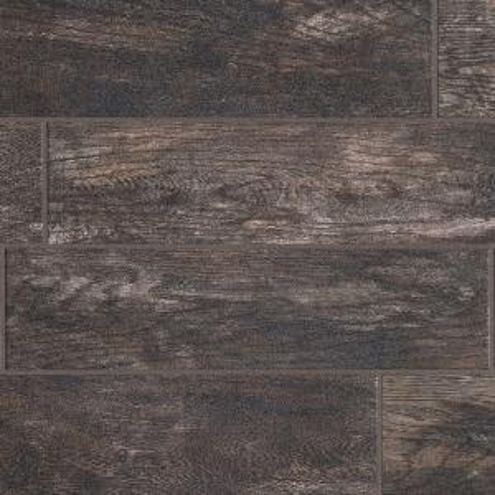 kitchen floor tiles home depot fruit decor marazzi montagna smoky black 6 in. x 24 glazed ...
