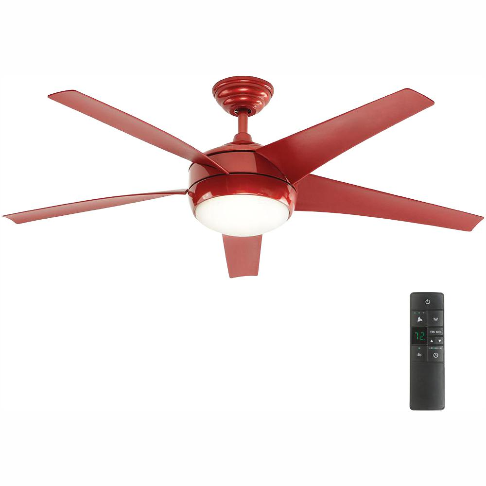 hight resolution of home decorators collection windward iv 52 in led indoor red ceiling pin ceiling fan wiring in new construction 2 sets switches light 2jpg