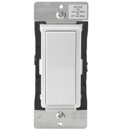 decora smart with z wave technology 15 amp switch white light almond [ 1000 x 1000 Pixel ]