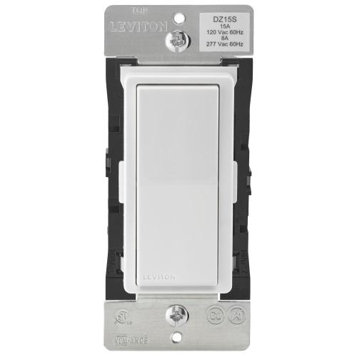small resolution of decora smart with z wave technology 15 amp switch white light almond