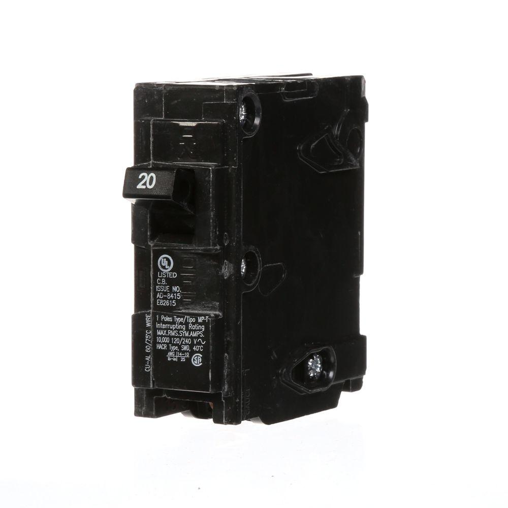 medium resolution of 20 amp single pole type mp circuit breaker