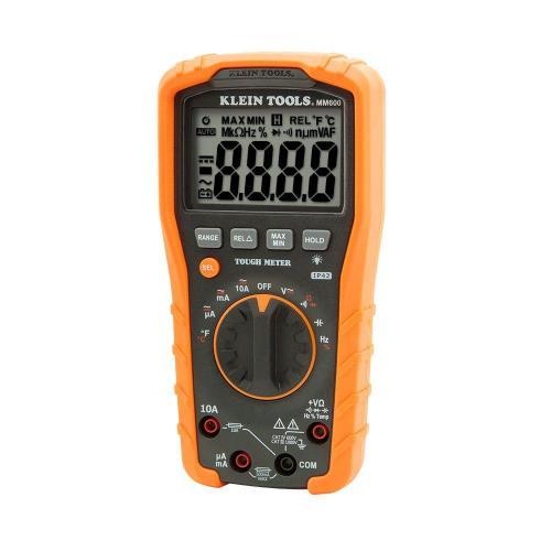 small resolution of klein tools 1000v auto ranging digital multimeter