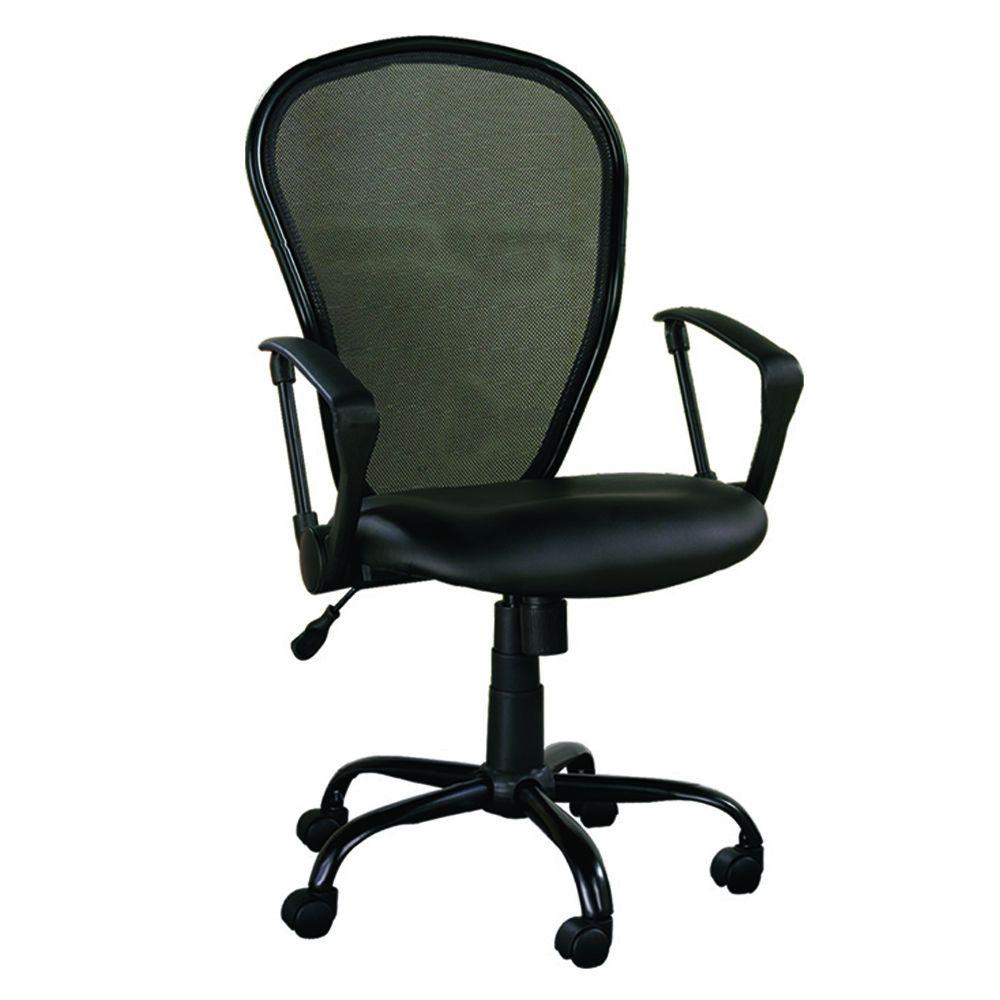 ZLine Designs Black Office ChairZL50041CU  The Home Depot