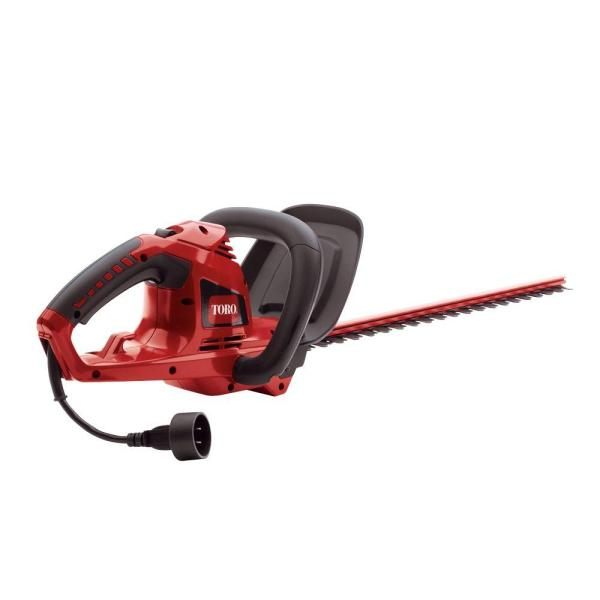 Toro 22 In. Corded Hedge Trimmer-51490 - Home Depot