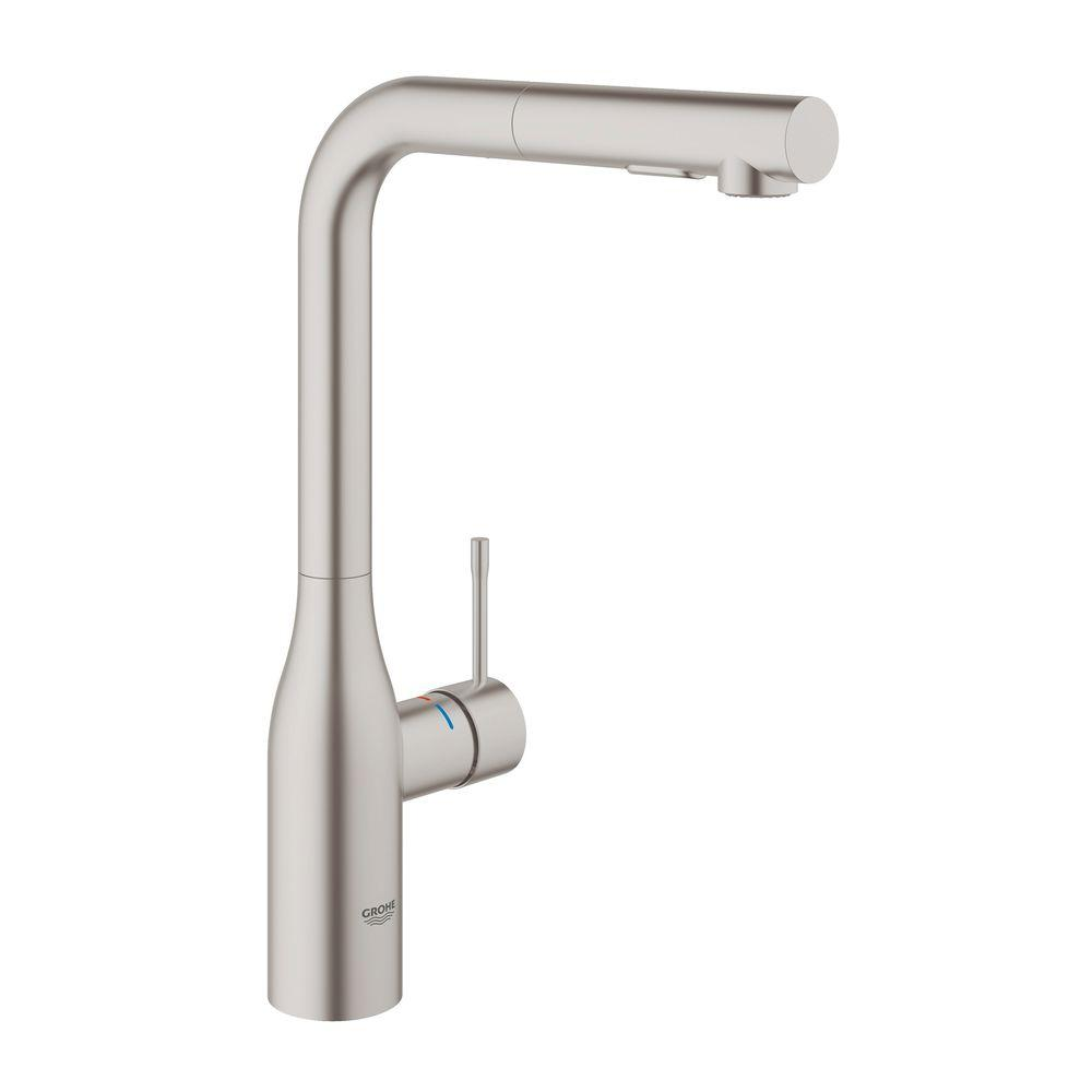 Grohe Essence New Singlehandle Pullout Sprayer Kitchen