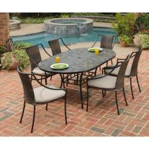 Home Styles Stone Harbor 7-piece Oval Patio Dining Set