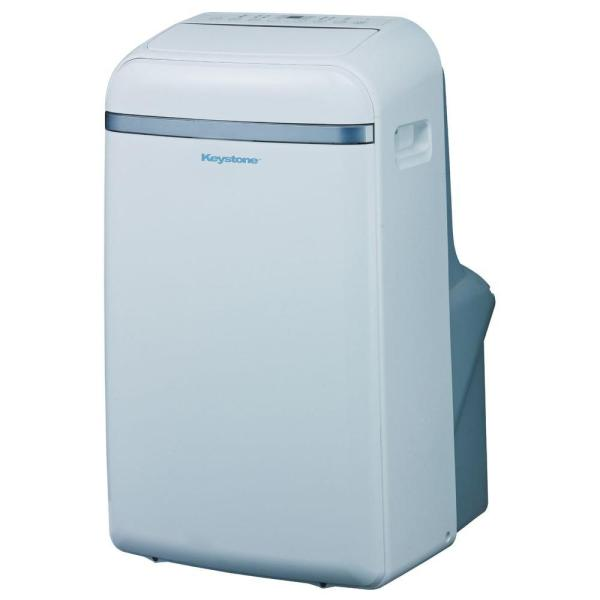 Keystone 12 000 Btu 115-volt Portable Air Conditioner With Follow Lcd Remote Control-kstap12b