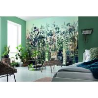 Komar 100 in. H x 145 in. W Urban Jungle Wall Mural-8-979 ...