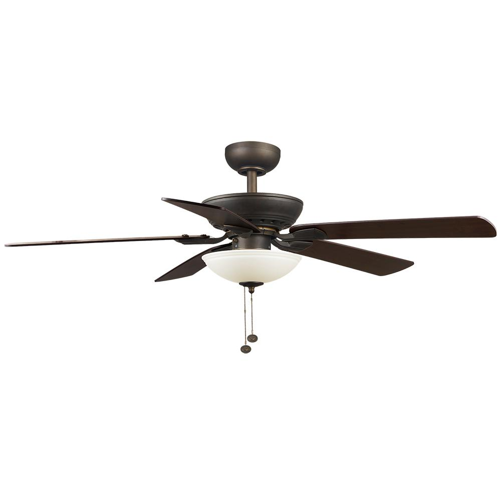 Hampton Bay Connor 52 in. LED Oil Rubbed Bronze Ceiling