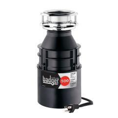 Kitchen Disposal Led Lights Insinkerator Badger 500 1 2 Hp Continuous Feed Garbage With Power Cord