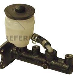 centric parts premium master cylinder preferred fits 1985 1988 toyota cressida 4runner pickup [ 1000 x 1000 Pixel ]