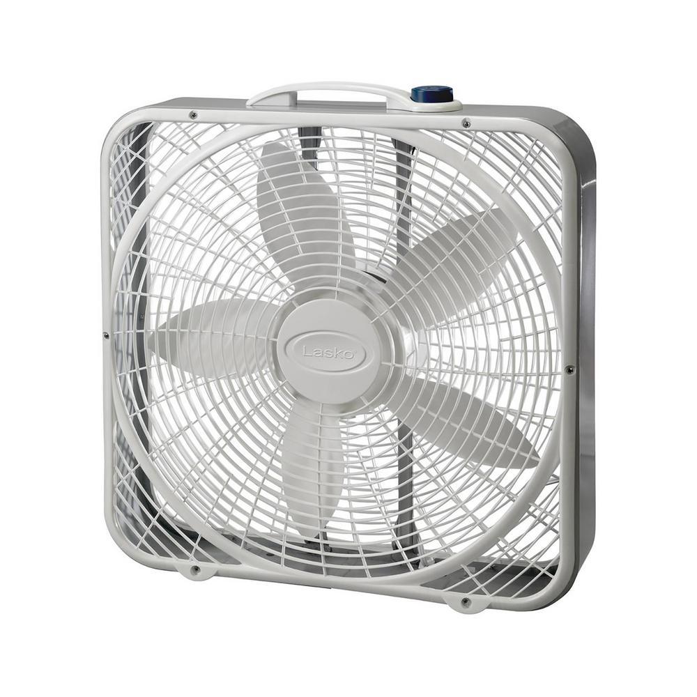 medium resolution of lasko 20 in 3 speed box fan 3721 the home depot3 speed box fan