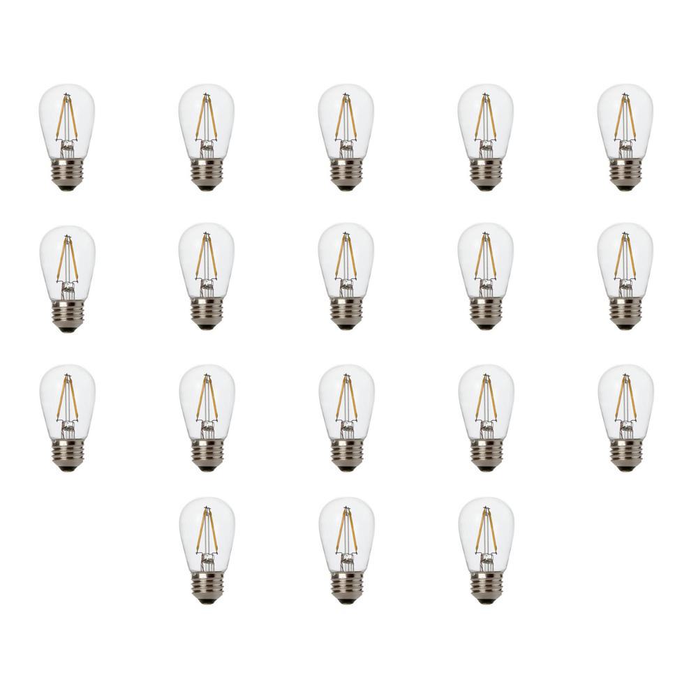 Newhouse Lighting 11W Equivalent 2400K Warm White S14 LED