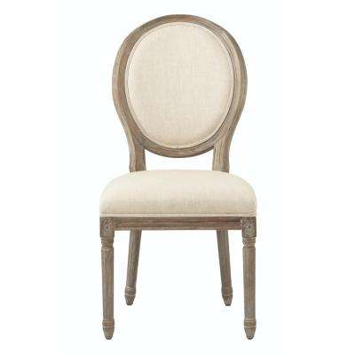 antique wood chair best posture desk dining chairs kitchen room furniture the home depot jacques brown natural linen round back set of 2