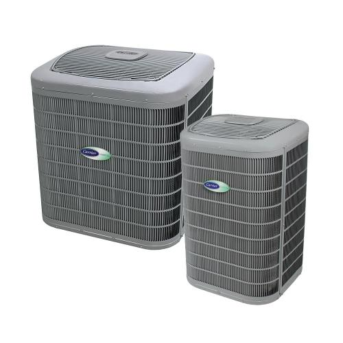 small resolution of installed infinity series air conditioner