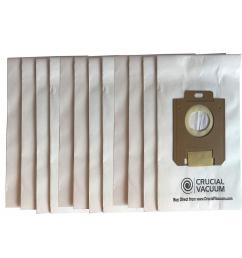 electrolux paper bags replacement for eureka style ox and electrolux style s part 61230 12 [ 1000 x 1000 Pixel ]