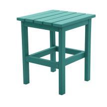 Durogreen Icon Aruba Square Plastic Outdoor Side Table