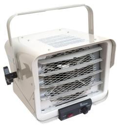 6000 watt portable commercial industrial hardwire fan heater with adjustable air flow [ 1000 x 1000 Pixel ]