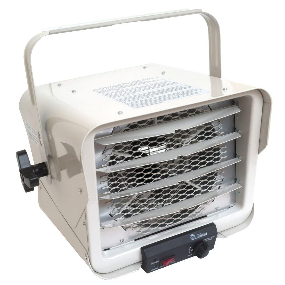electric fan heaters typical refinery process diagram the home depot 6000 watt portable commercial industrial hardwire heater with adjustable air flow