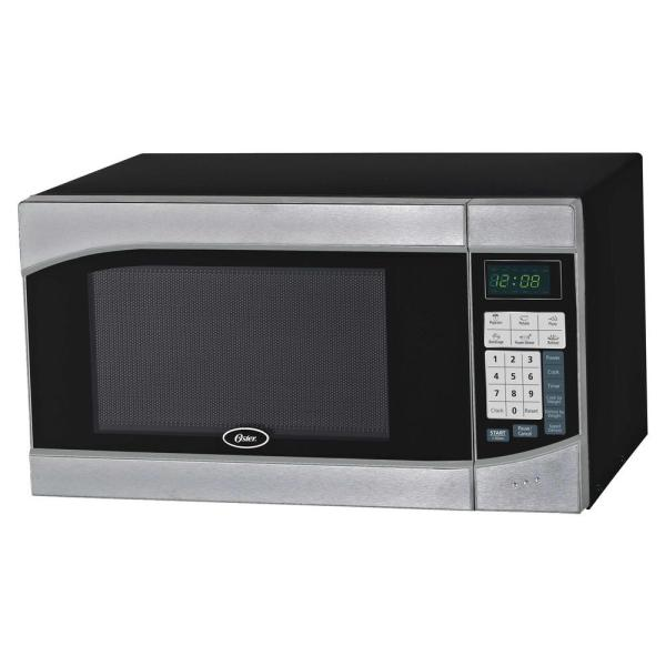 Oster 0.9 Cu. Ft. 900-watt Countertop Microwave In Black-ogh6901 - Home Depot