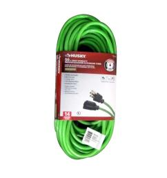 husky cold weather indoor outdoor extension cord homedepot com pin vga cable wiring diagram data cable [ 1000 x 1000 Pixel ]