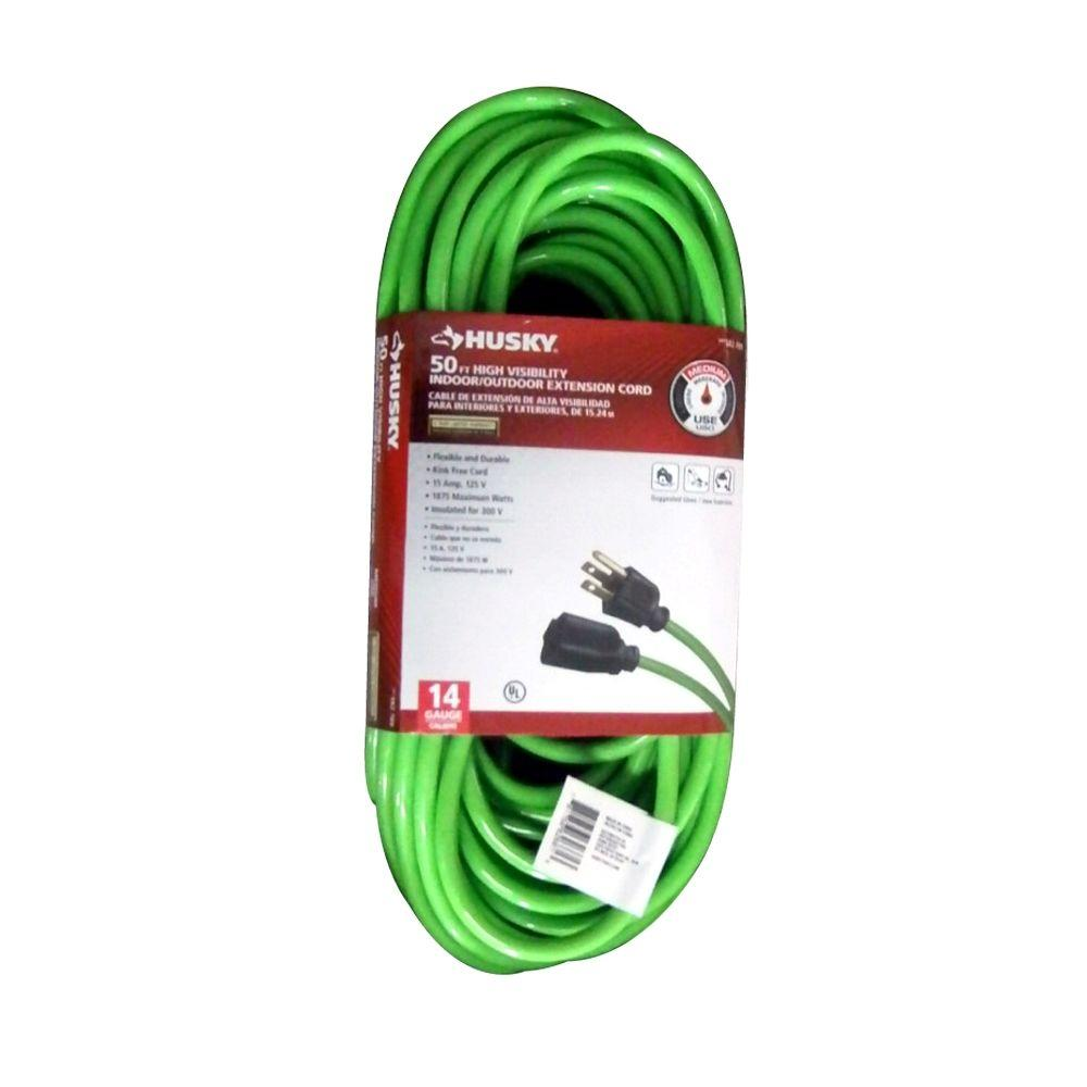 hight resolution of husky cold weather indoor outdoor extension cord homedepot com pin vga cable wiring diagram data cable