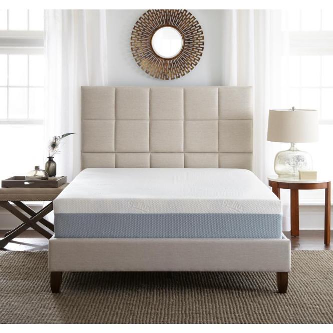 Rest Rite Full Medium To Firm Gel Memory Foam Mattress Hd11750db The Home Depot