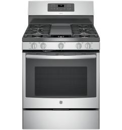 ge adora 5 0 cu ft gas range with self cleaning convection oven in [ 1000 x 1000 Pixel ]