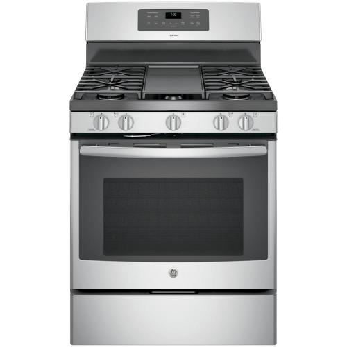 small resolution of ge adora 5 0 cu ft gas range with self cleaning convection oven in