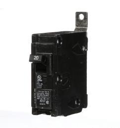 20 amp single pole type bl bolt on circuit breaker [ 1000 x 1000 Pixel ]