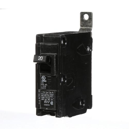 small resolution of 20 amp single pole type bl bolt on circuit breaker