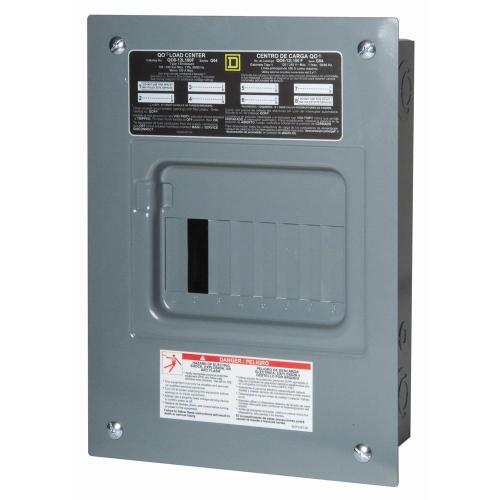 small resolution of square d qo 100 amp 6 space 12 circuit indoor main lug load center