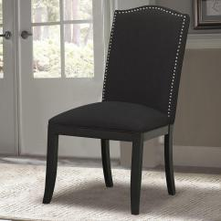 Fabric Side Chairs Office Chair With Back Support Pri Black Ds 2662 270 411 The Home Depot