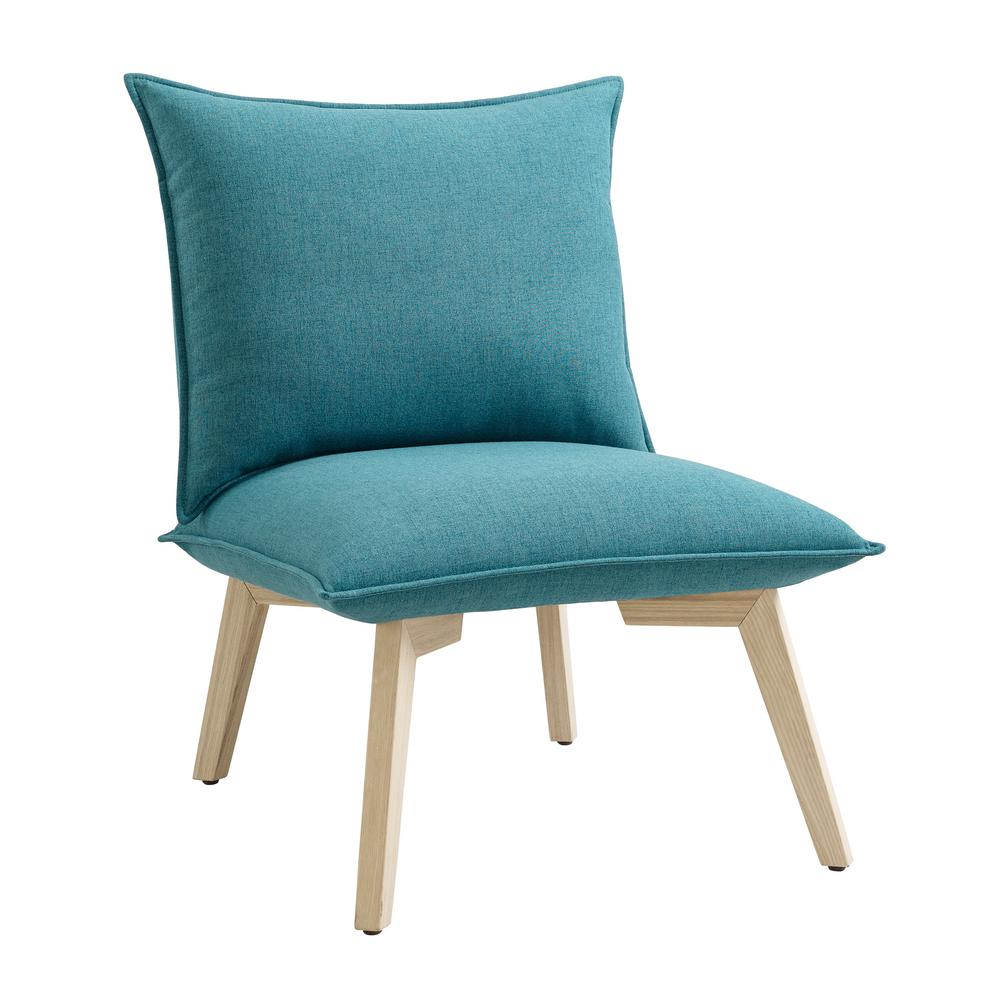Plush Chairs Clementine Blue Pillow Chair