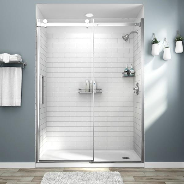 shower wall tile adhesive home depot