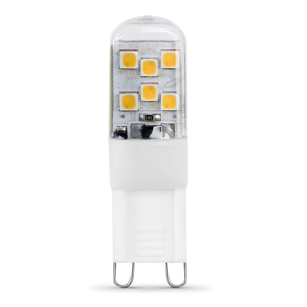 Feit Electric 25W Equivalent G9 3000K LED High Lumen