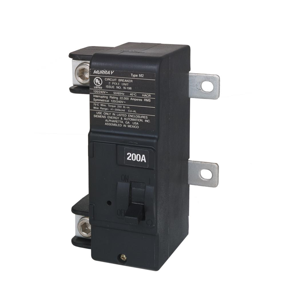 hight resolution of murray 200 amp main breaker conversion kit mbk200m the home depot rh homedepot com 200 amp disconnect wiring diagram 200 amp panel wiring diagram