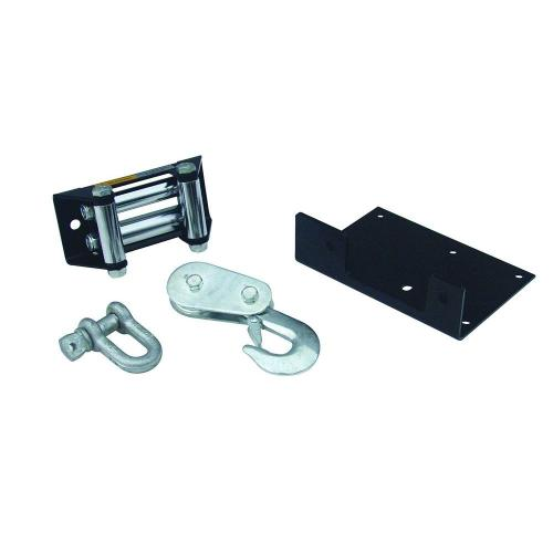 small resolution of superwinch lt2000 atv winch accessory upgrade kit with mounting plate roller fairlead pulley block