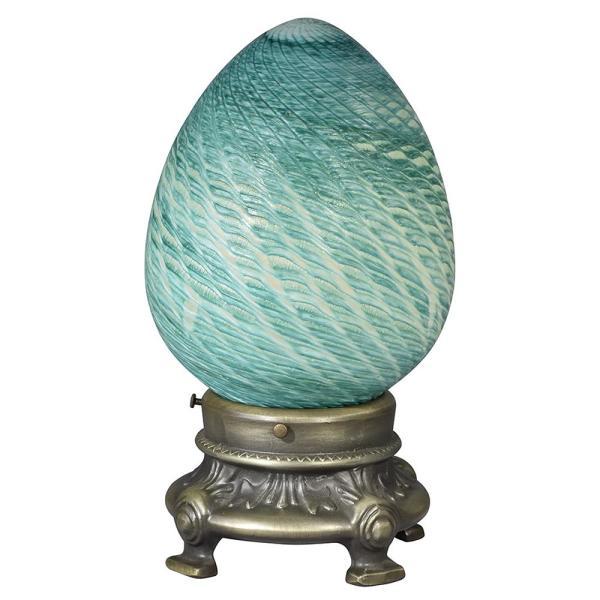 Hand Blown Art Glass Lamps