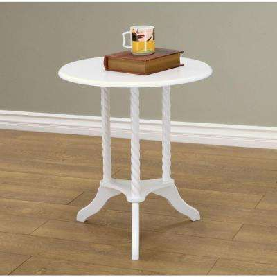 living room end tables lighting ideas vaulted ceilings accent furniture the home depot white table