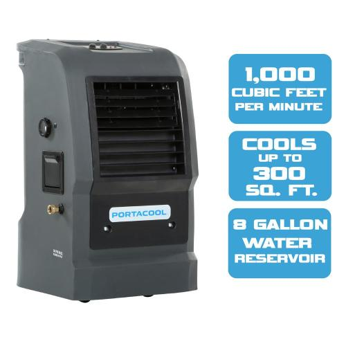 small resolution of portacool cyclone 110 1000 cfm 2 speed portable evaporative cooler for 300 sq ft