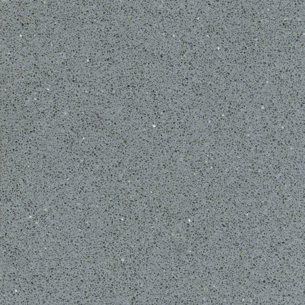 Silestone 2 in. x 2 in. Quartz Countertop Sample in Grey