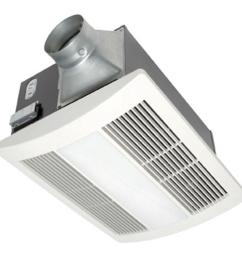 panasonic whisperwarm 110 cfm ceiling exhaust bath fan with light and heater [ 1000 x 1000 Pixel ]