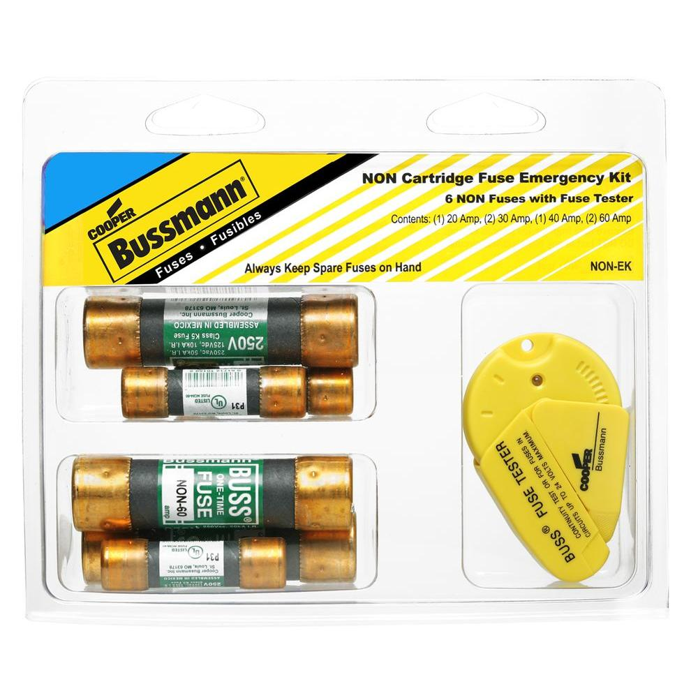 hight resolution of cooper bussmann non series emergency cartridge fuse kit