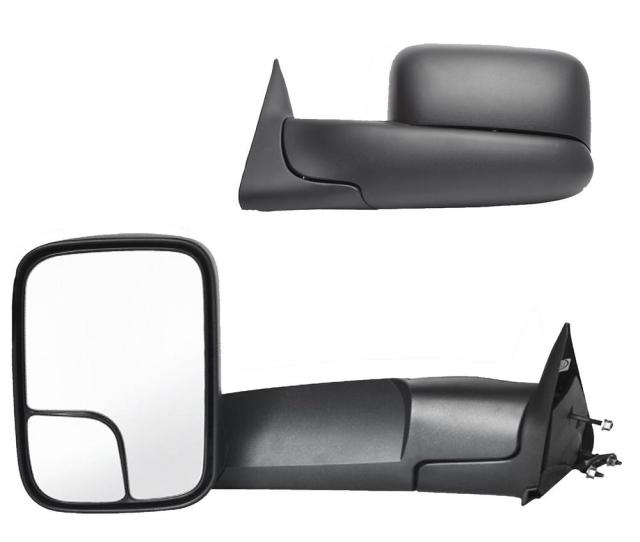Fit System Towing Mirror For 98 01 Dodge Ram Pick Up 1500 98