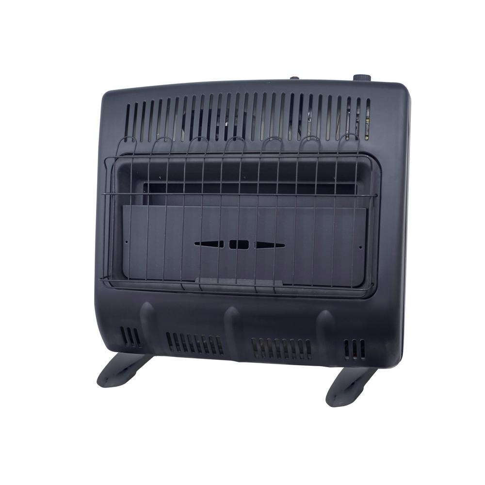medium resolution of 30 000 vent free blue flame natural gas garage heater