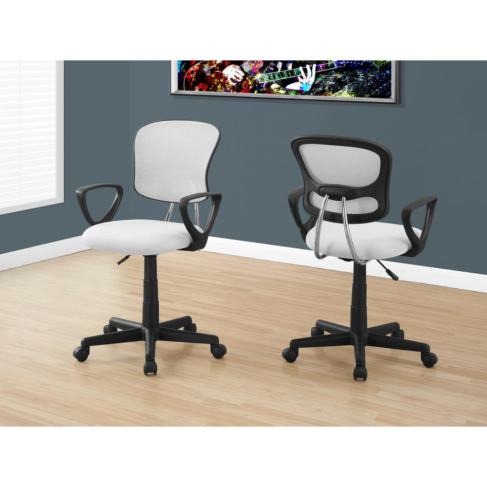 kids office chairs foldable chair uk monarch specialties white multi position i 7261
