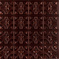 Gothic Reims 2 ft. x 2 ft. Glue-up Ceiling Tile in Antique ...