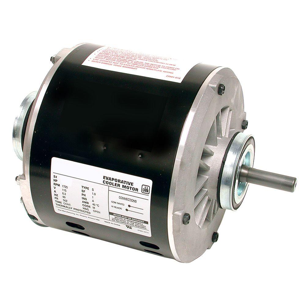 medium resolution of 2 speed 3 4 hp evaporative cooler motor